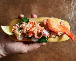 Image de Lobster Maine Roll
